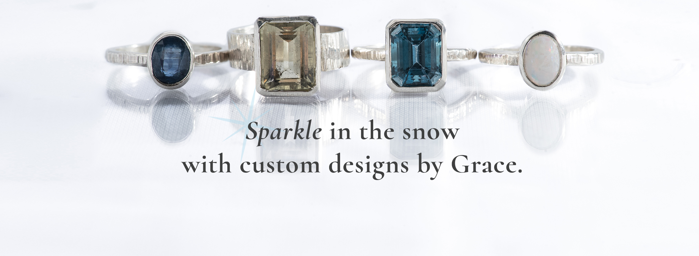 Custom designed jewelry from Grace Jewelers